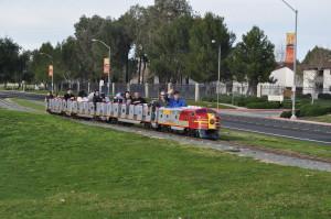 One small train in Concord