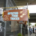 Sign from Rotating Food Truck Court